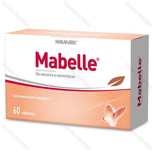 Mabelle / Мабел при менопауза 60 табл.