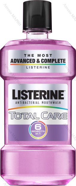 LISTERINE Total Care, Вода за уста - 6 в 1, 250 мл.