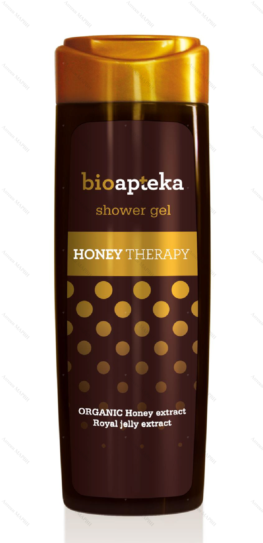 Bilka BioApteka HONEY THERAPY, Душ-гел - с Мед, 250 мл.