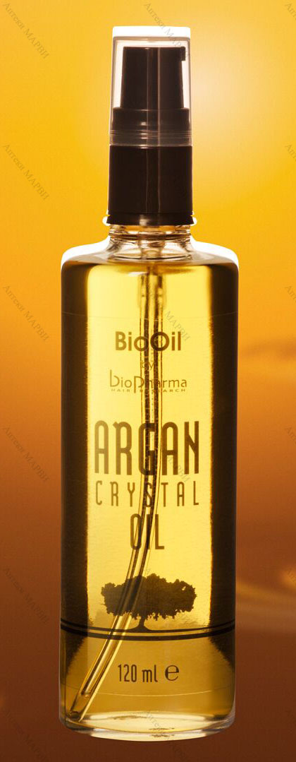 BioOil by BioPharma Argan Crystal Oil, Кристали за коса - с Арганово масло, 120 мл.