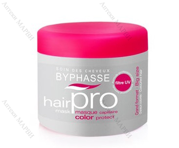 BYPHASSE Hair Pro, Маска за боядисана коса, 500 мл.