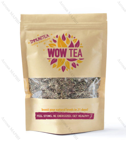WOW TEA Immunitea, Чай за засилване на имунната система, 150 гр.