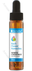 Bioherba Bach Flower Remedies, Капки на Бах - Wild Chestnut / Див кестен, 20 мл.