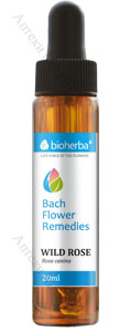 Bioherba Bach Flower Remedies, Капки на Бах - WILD ROSE / ШИПКА, 20 мл.