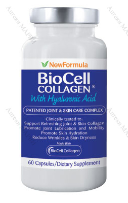 New Formula, BioCell Collagen / БиоСел колаген - с хиалуронова киселина, 60 капс.