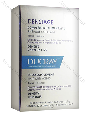 DUCRAY Densiage 30 капс.