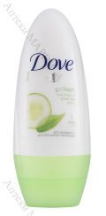 Dove Go Fresh Cucumber & Green Tea, Рол-он против изпотяване, 50 мл.