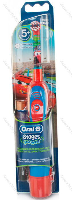 Oral-B Stages Power Cars Електрическа четка за зъби 1 бр.