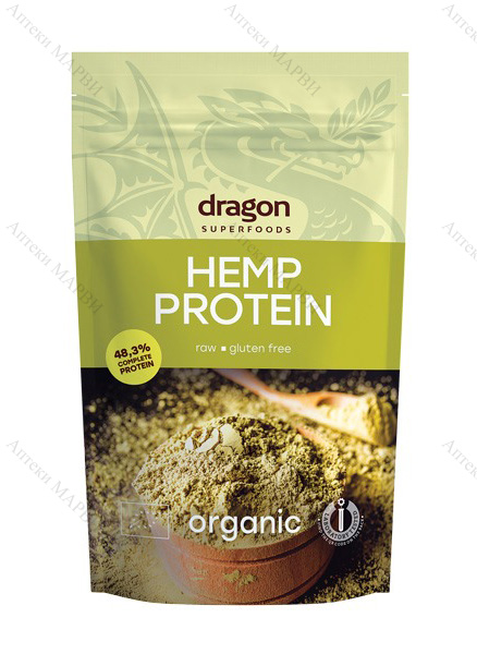 Dragon Superfoods БИО Протеин от Конопено семе 200 гр.